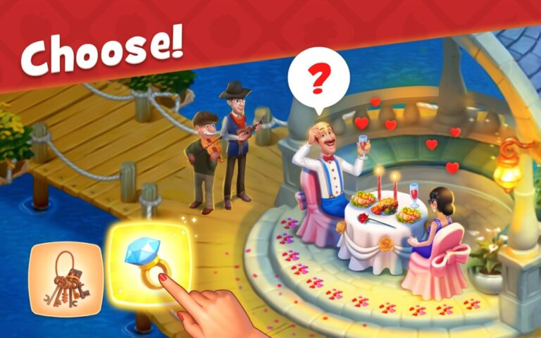 Gardenscapes para Android