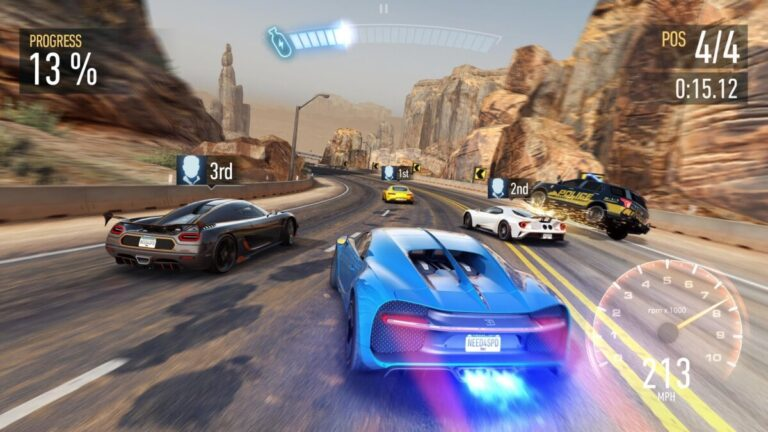 Need for Speed No Limits per Android