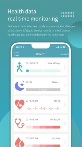 Wearfit для Android