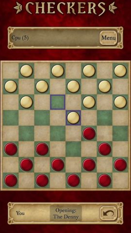 Checkers для Android