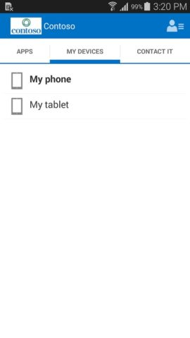 Intune для Android