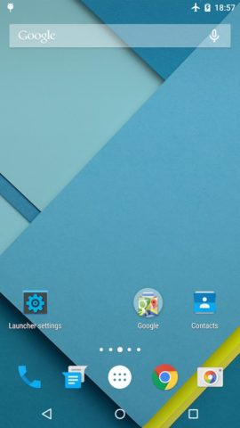 Lollipop Launcher для Android