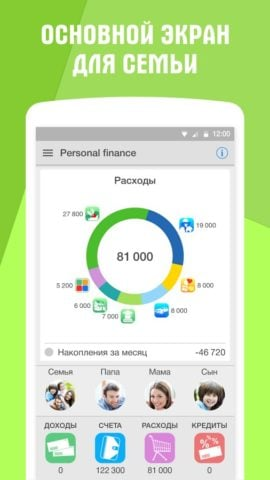 Personal finance для Android