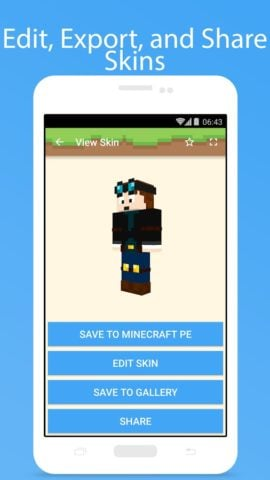 Skins for Minecraft для Android