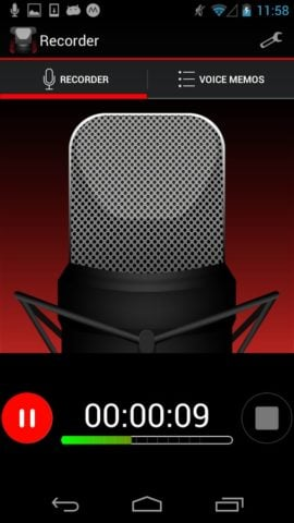 Voice Recorder per Android