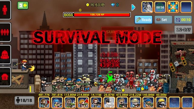 100 DAYS Zombie Survival для Android