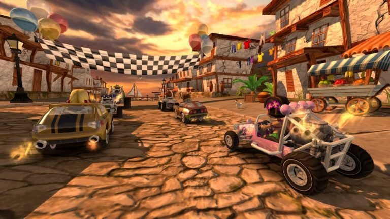 Beach Buggy Racing для Android