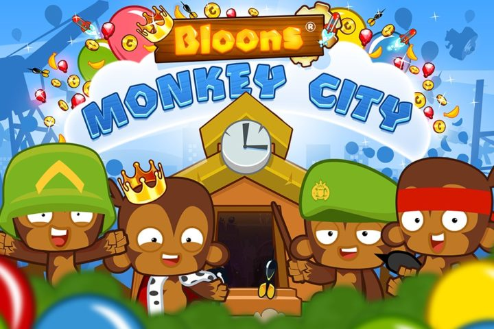 Bloons Monkey City для Android