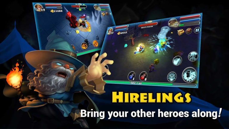Dungeon Quest для Android