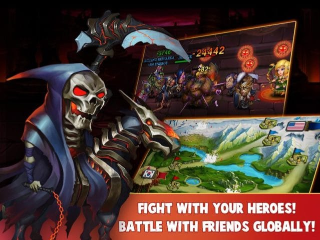 Heroes Charge для Android