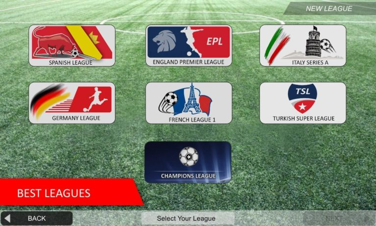 Mobile Soccer League для Android