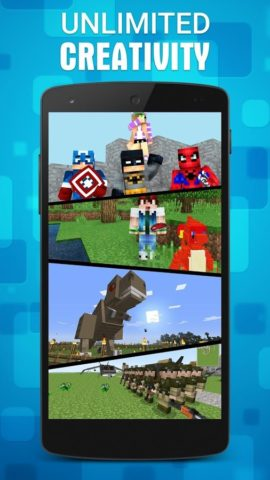 Mods for MCPE для Android