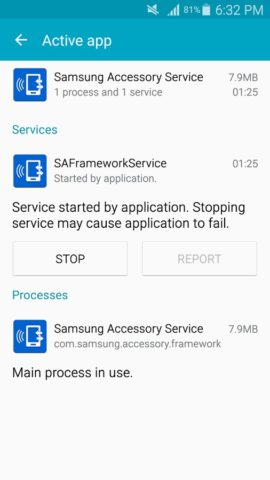 Samsung Accessory Service для Android