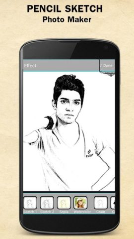 Sketch Photo Maker для Android
