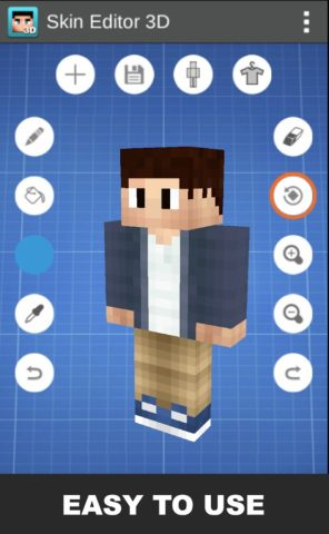 Skin Editor 3D for Minecraft para Android