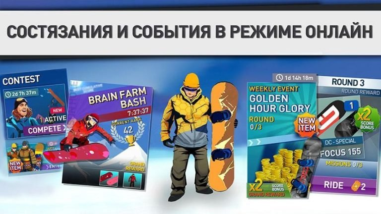 Snowboarding The Fourth Phase для Android