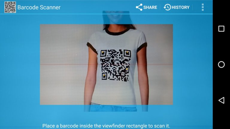 Barcode Scanner para Android