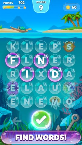Bubble Words для Android