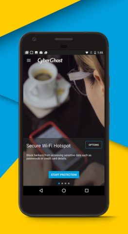 CyberGhost VPN для Android