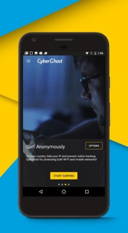 CyberGhost для Android