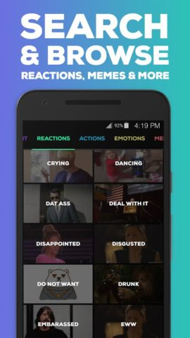 GIPHY для Android