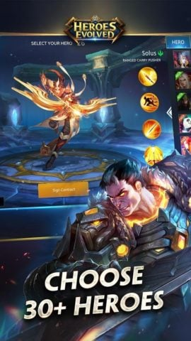 Heroes Evolved per Android