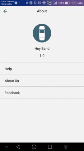 Hey Band для Android