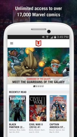 Marvel Unlimited для Android