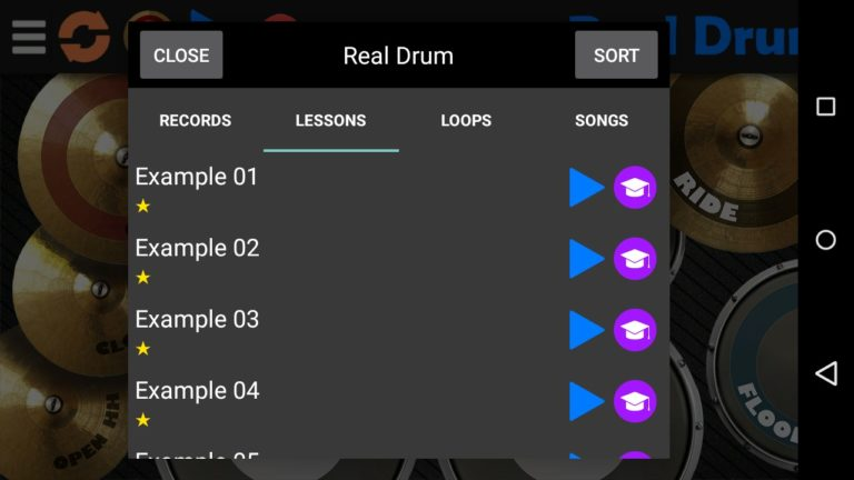 Real Drum для Android