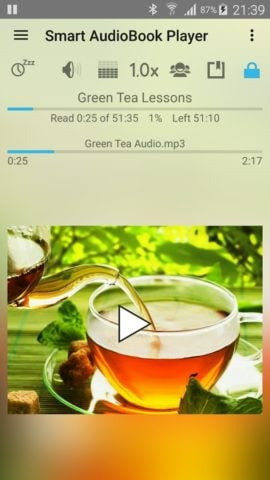 Smart AudioBook Player для Android