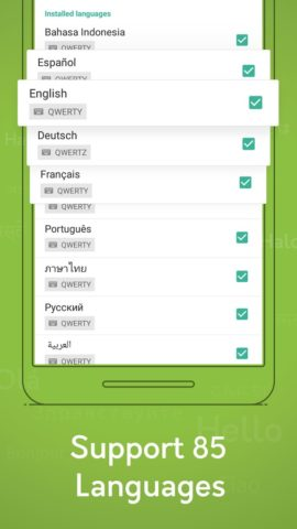Typany keyboard для Android