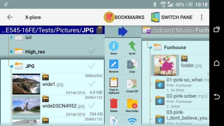 X-plore File Manager для Android