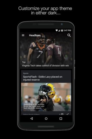 Yahoo Sports для Android