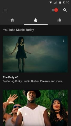 YouTube Music для Android