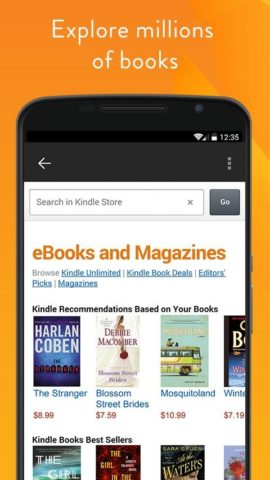 Amazon Kindle для Android