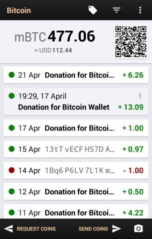 Bitcoin Wallet для Android