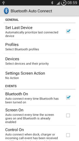 Bluetooth Auto Connect для Android