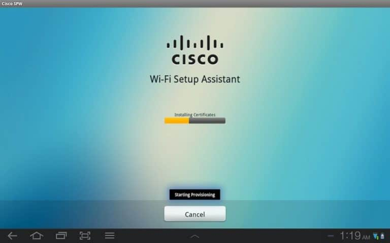 Cisco Network Assistant для Android