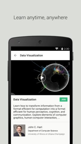 Coursera для Android