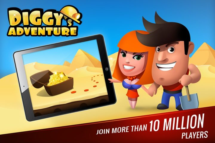 Diggy's Adventure для Android