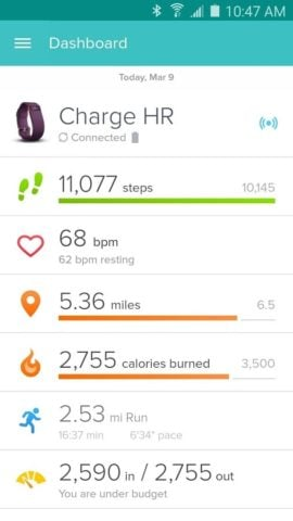 Fitbit для Android