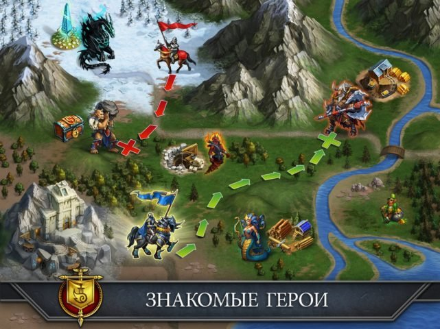 Gods And Glory для Android
