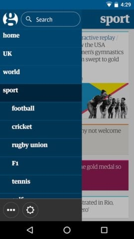 Guardian для Android