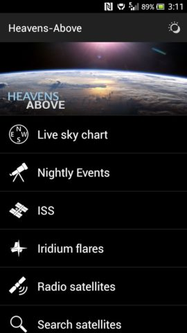Heavens-Above для Android