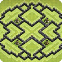 Maps of Clash of Clans для Android