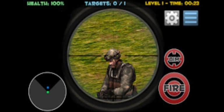 Sniper Shooting 3D для Android