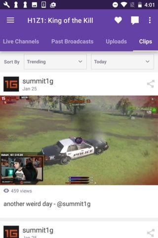 Twitch для Android