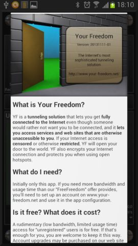 Your Freedom для Android