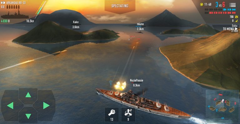 Battle of Warships для Android
