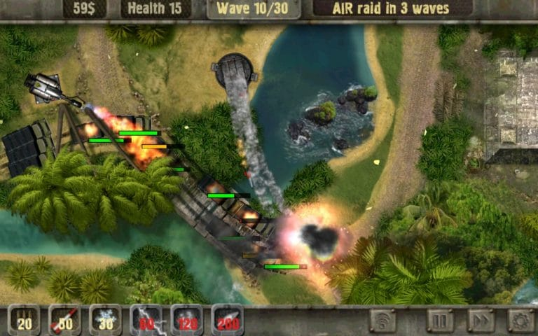 Defense Zone для Android